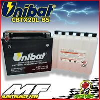 Battery UNIBAT CBTX20L-BS Without Maintenance Kawasaki Kaf Mule 3010 620 2008