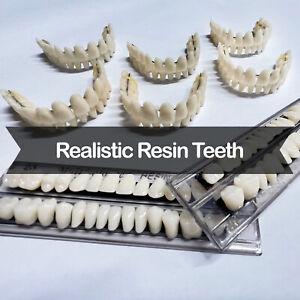 DIY Dentures - Preformed Resin Teeth (upper and lower)