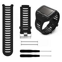 Sport Replacement Watch Band Strap Wristband + Tool For Garmin Forerunner 910XT
