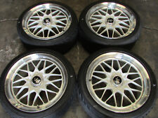 "JDM Rays Volk Racing EVO4 Staggered 18x9 18x10 ET46 +46 18"" 5x114.3 Wheels Rims"