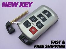 Worn Unlocked TOYOTA SIENNA keyless entry remote fob HYQ14ADR w/ NEW INSERT KEY