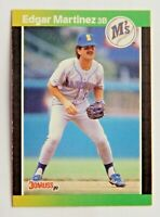 Edgar Martinez #645 Donruss 1989 Baseball Card (Seattle Mariners) VG