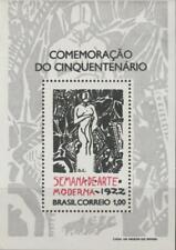 Brazil 1972 Souvenir Sheet #1222 Modern Art Week - MNH