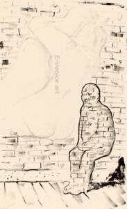 Seymour ROSOFSKY  Piccola figura  1973 original signed lithography