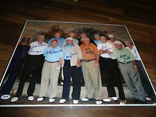 14 Golf Legends from the 1950s and 1960s Signed  16x20 Photo PSA DNA