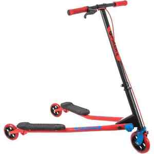 Y-Volution A3 Air Refresh Complete Scooter - Red/Blue