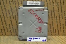 1999 Ford Escort Engine Control Unit ECU XS4F12A650RA Module 139-4B7