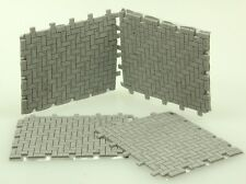 Juweela 24117 Spur 0 Flexway Pflastersegment Fischgrät grau (12 Stück)