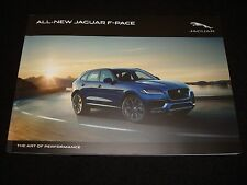 JAGUAR F-PACE UK SALES BROCHURE OCTOBER 2015 17MY NEW, OLD STOCK