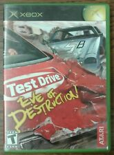Test Drive: Eve of Destruction (Microsoft Xbox, 2004) Manual Included