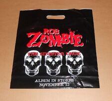 Rob Zombie The Sinister Urge Original Promo Plastic Bag 14x15