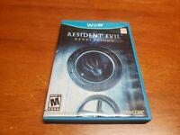 Resident Evil Revelations (Nintendo Wii U, 2013) CIB Complete TESTED WiiU