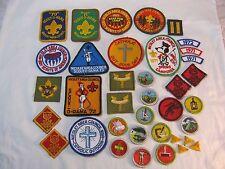 BOY SCOUT PATCH BADGE LOT NICOLET AREA COUNCIL CAMPOREE CAMP 1970'S VTG.   T*