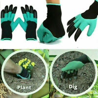 1Pair For Garden Gloves Digging Planting 8Pcs ABS Plastic Claws Gardening Gloves