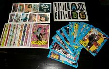 PEE WEE'S PLAYHOUSE 1988 TOPPS COMPLETE CARD SET 1-33 + PROMOS + MINI FLIPS ++