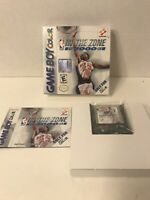 In The Zone 2000 Nintendo Game Boy Color GBC Box Manual Game Complete