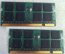 Macbook 13 A1181 2007 2139 RAM Memory Used DDR2 PC2 2 X 512MB = 1 GB 1GB