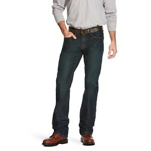 Ariat® Men's Rebar M5 DuraStretch Slim Fit Straight Leg Jeans 10016223