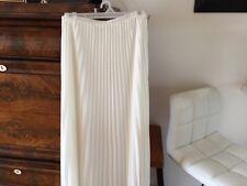 Last Tango NWT White  skirt SZ S Long Ankle Amazing Dressy, Casual