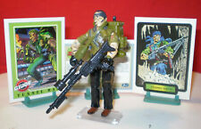 1987 GI JOE TUNNELRAT EOD DEMOLITIONS + RARE CARDS VINTAGE HASBRO ARAH cobra ***