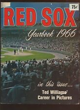 1966 MLB Baseball Boston Red Sox Yearbook VG