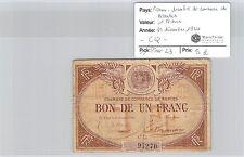 CHAMBRE DE COMMERCE NANTES - BILLET DE 1 FRANC 31-12-1924 CQ
