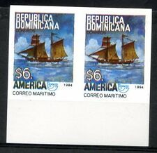 UPAEP - DOMINICAN Yvert # 1158 - Sc # 1168, Pair Imperforate, MNH, VF