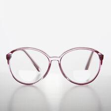 05054dd0077 Bifocal Round Reading Glasses Crystal Pink Frame 3.75 Diopter - Vir