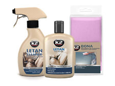 K2 2 in 1 Letan Clean and Protect Balm Leather Car Sofa Upholstery Cleaner KIT