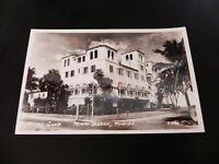 Hotel Good Miami Beach Florida FL RPPC Real Photo Postcard 1950's Motel Car Rare