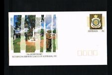 [HD014] 1991 - Australia Prepaid cover - Military - 75 years Returned & Services