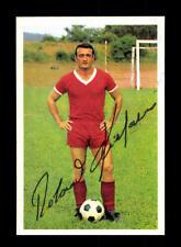 Roland Kiefaber 1 FC Kaiserslautern 1966-67 Bergmann sammelbild Originale SIGN