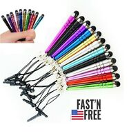 10x Universal Mini Stylus Pen For All Capacitive Touchscreens Apple and Android