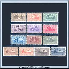 1930 Italia Regno Virgilio n. 282/290+A  Centrati Nuovi Integri **