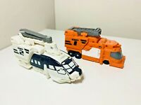 Transformers Optimus Prime Energon Vehicle Op 1 & Op 2 Leader Class Toy Parts