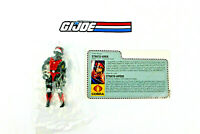 1986 GI Joe Night Raven Pilot Strato Viper Night Raven Pilot New and Sealed w/FC