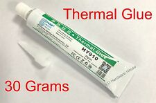 30g-Thermal Conductive Silicone Glue Adhesive -LED GPU Heatsink Mosfets 10 off 2