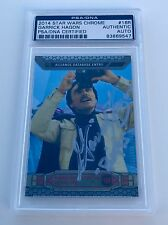 Topps Chrome Star Wars Garrick Hagon Biggs Darklighter Signed Auto Card PSA/DNA