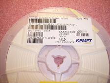 Qty (10000) .01uf 50V 10% X7R Smd Ceramic Mlcc Capacitors C0402C103K5Ractu Kemet