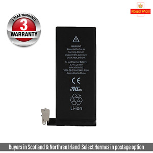 New Genuine Replacement Battery for iPhone 4 1420mAh 100% Capacity