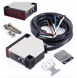 Lichtschranke Widerschein Reflexlichtschranke Sensor E3JK-R4M1 AC90-250V 3A BE