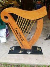 """Guinness Harp Sign 43"""" x 32"""""""