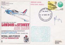 S3aA London - Sydney Air Race Flown Gatwick to  Sydney Signed  Pilot