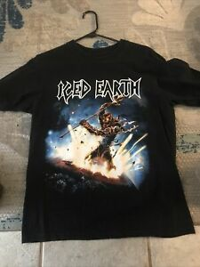 vintage iced earth shirt 2008 Tour. Free Shipping