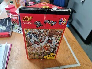 HEYE LOUP 1000 PIECE JIGSAW PUZZLE ( FORMAL FUN ) NO POSTER TRIANGLE BOX