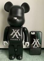 Medicom Toy Figure Japan Original Bearbrick 400% MONSTA X