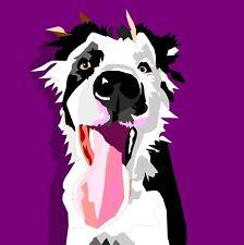 Custom Pet Portrait - Beautiful Digital Painting of your Dog, Cat etc