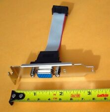 11Pin Low Profile Half Height Size Length VGA CRT D-Sub Extension Bracket Cable