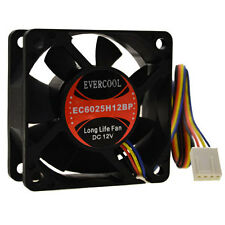 Evercool EC6025H12BP 60mm x 25mm 12v CPU Cooling Fan 4-Pin PWM