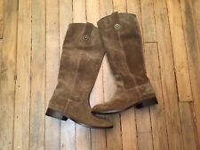 FRYE MELISSA TALL SUEDE RIDING BOOTS NEW SIZE 6